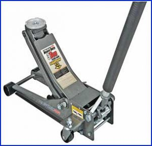 Pittsburgh Heavy Duty Low Profile Steel Floor Jack