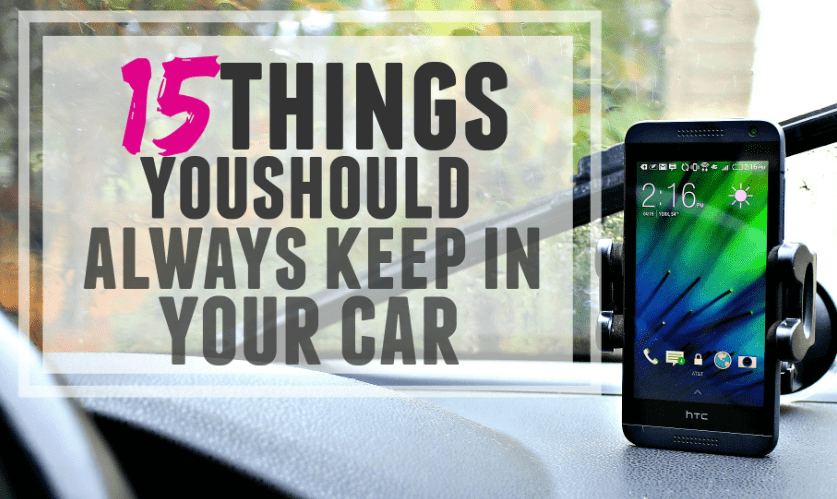 things you should in car